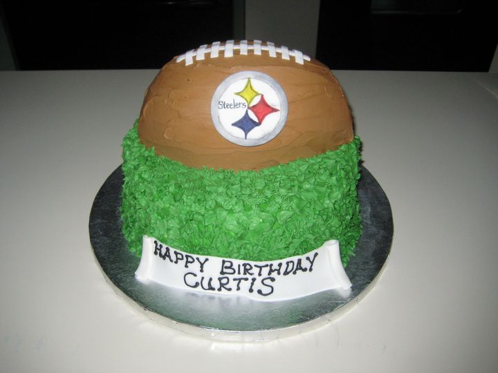 Tmx 1399940129139 7 Steelers Football Cak Frederick, MD wedding cake