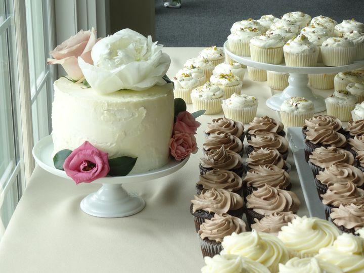 Tmx 1484064429314 Azzolini Cupcakes Frederick, MD wedding cake