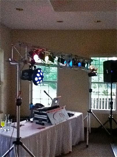 Another DJ setup we have to offer......