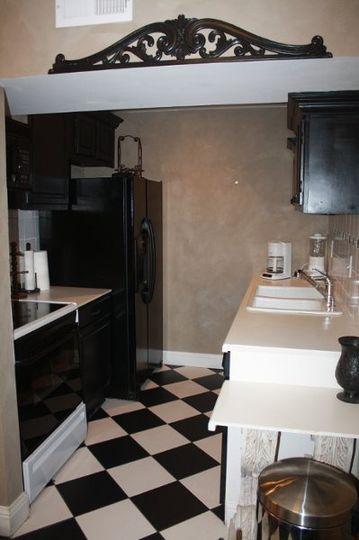 Chateau additional kitchen