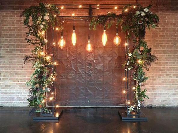 Doorway decor and lighting