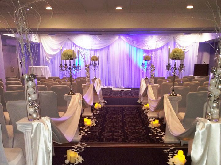 Tmx 1422647370626 Caucus Ceremony Purple And Yellow Raleigh, NC wedding venue
