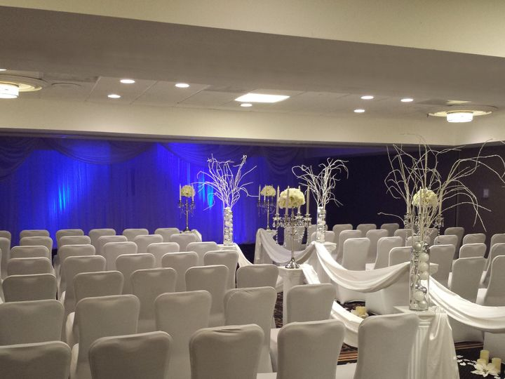 Tmx 1422647391825 Caucus Ceremony White And Blue Raleigh, NC wedding venue