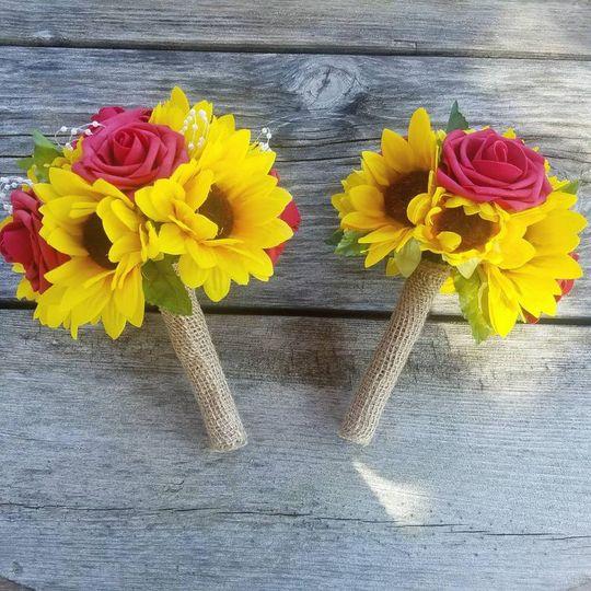 Affordable sunflower wedding