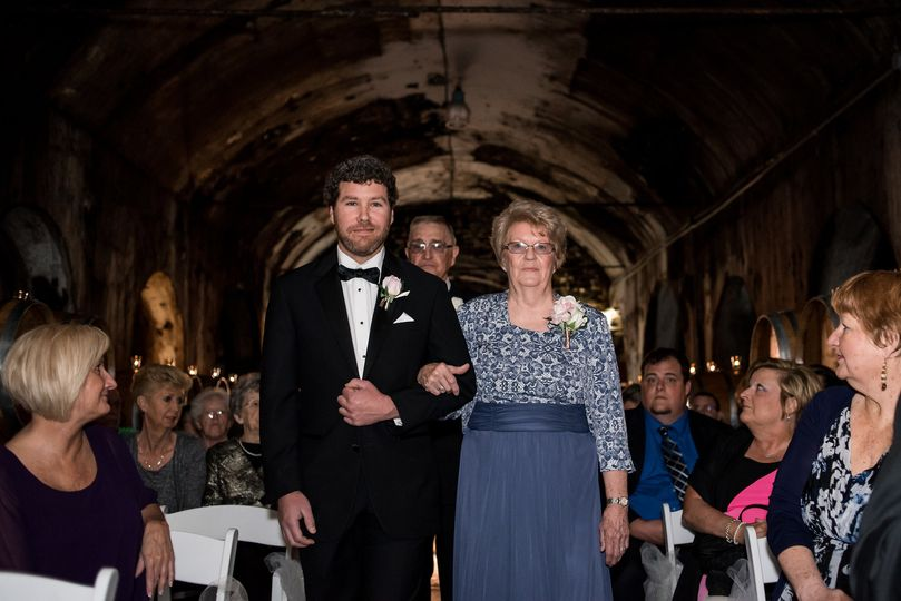 Grandmother and usher floral