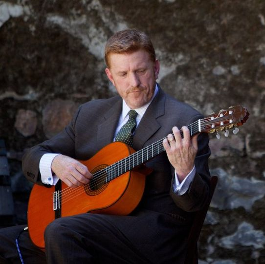Mike McCall, Spanish Guitarist at Napa Wedding