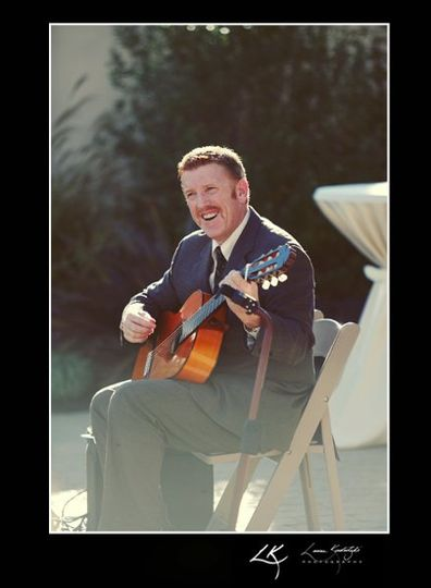 Mike McCall, Spanish Guitarist at Sonoma Wedding