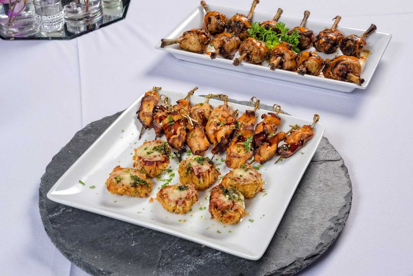 Fabulous Passed Hors d'Oeuvres