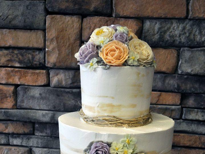 Tmx 1509376382679 Dsc0760 Park Ridge wedding cake