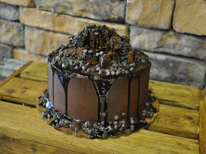 Tmx 1509376441303 Dsc1165 Park Ridge wedding cake