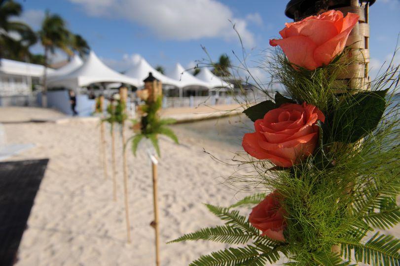 Beach Ceremony Decor