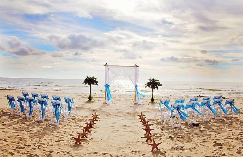 bamboo paradise beach wedding michiga