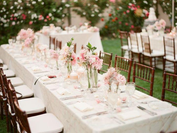 Tmx 1437525193609 Pink Center Piece Santa Ynez wedding venue