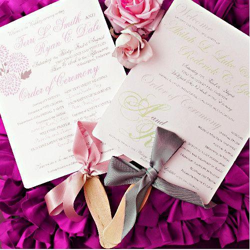 Sample invitation design