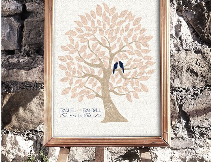 Sample framed sign