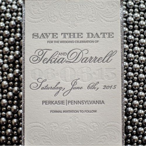 Tmx 1483563901482 Save The Date Philadelphia, Pennsylvania wedding invitation