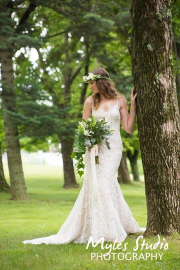 A bridal portrait for this rustic wedding at The Eagle's Nest in Bloomingburgh NY.