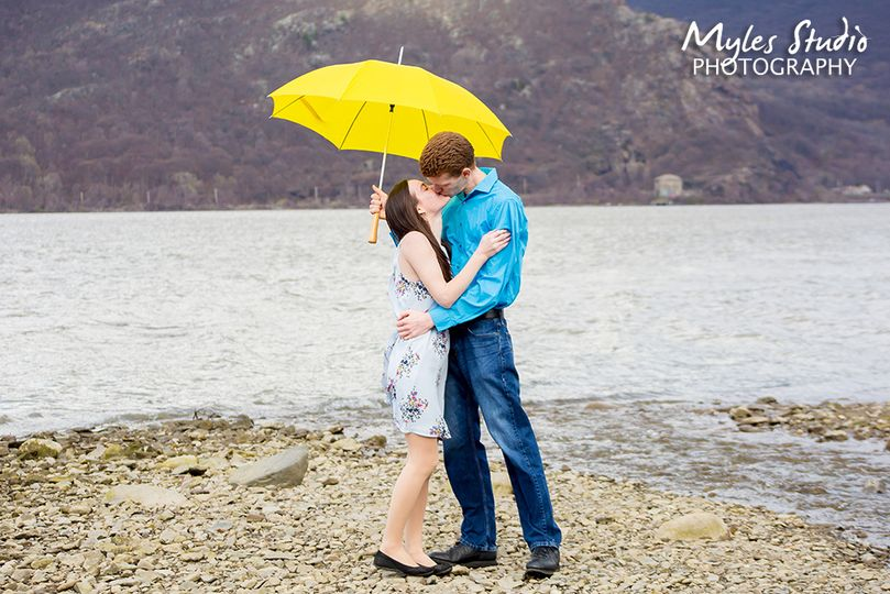 A Spring Engagement Photo