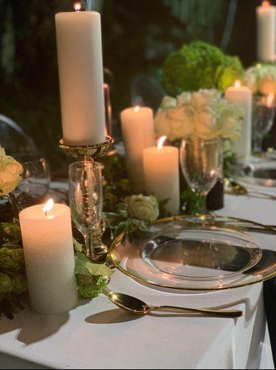 Sample dinning table