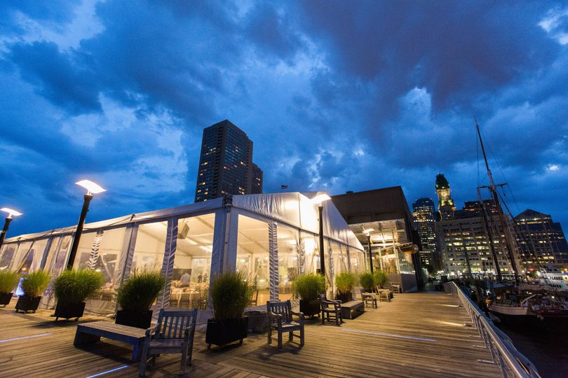 New england aquarium venue boston ma weddingwire for Outdoor aquarium uk