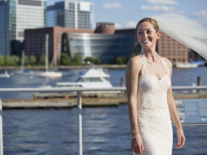 Tmx 1381167357977 Bridal Portrait Harbor Walk Boston wedding venue