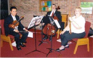 Carol Bernhardt Trio  Steve, Ron, Carol