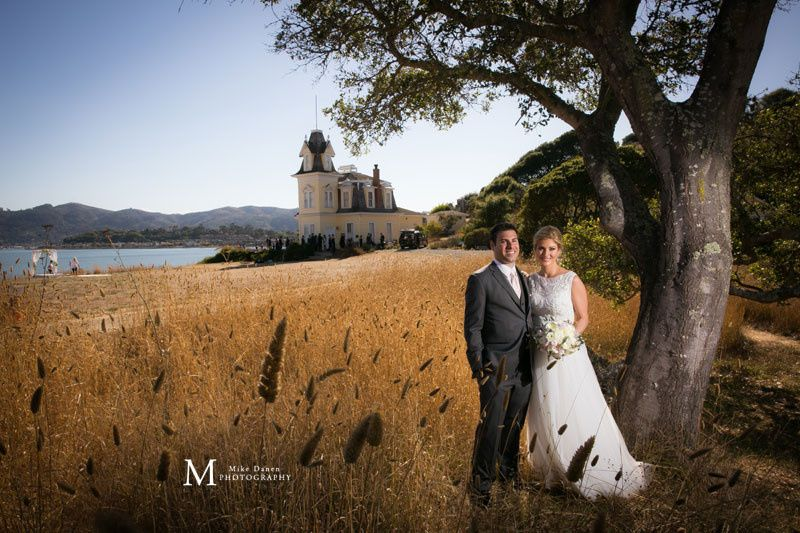 Historic wedding venue in Tiburon, California