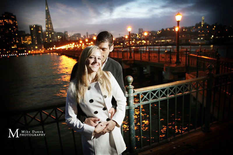 Engagement session in San Francisco at the Embarcadero