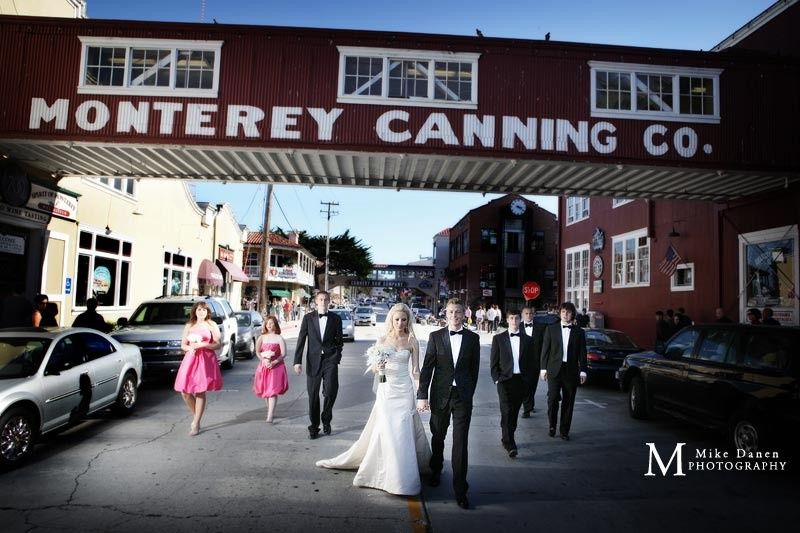 Cannery Row wedding in Monterey, California