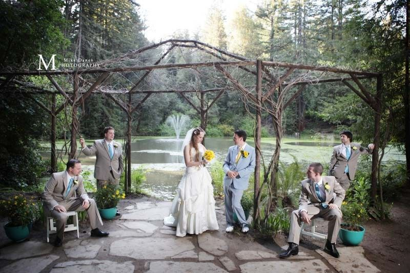 Wedding at Nestldown in the Santa Cruz mountains near Los Gatos, California