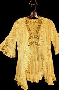 Tmx 1306427072228 Antiqueblouseyellowsm Englewood, Colorado wedding dress