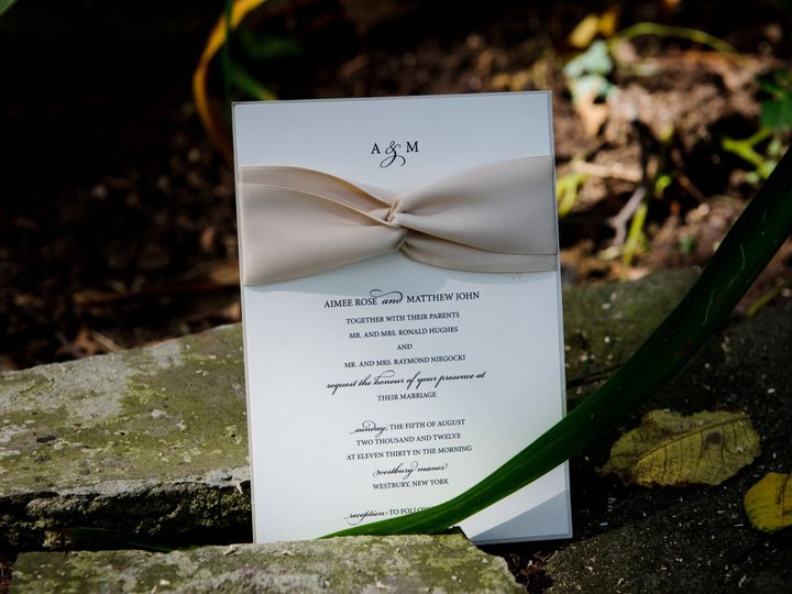 Tmx 0301 51 530032 1561423701 Selden, NY wedding invitation