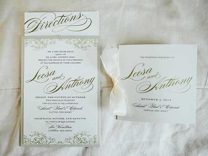 Tmx 1421338653958 Ein W La 0044 Selden, NY wedding invitation