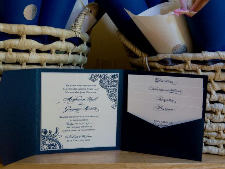Tmx 1421339029163 3984004726713775454829738411n Selden, NY wedding invitation