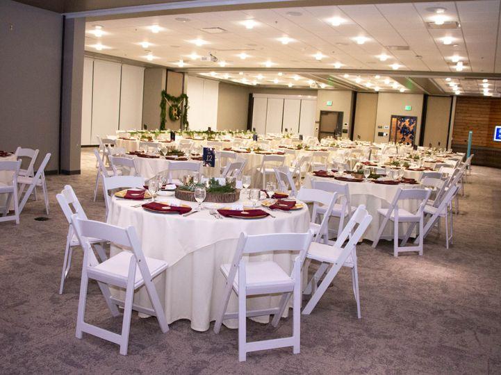 Full upstairs venue space