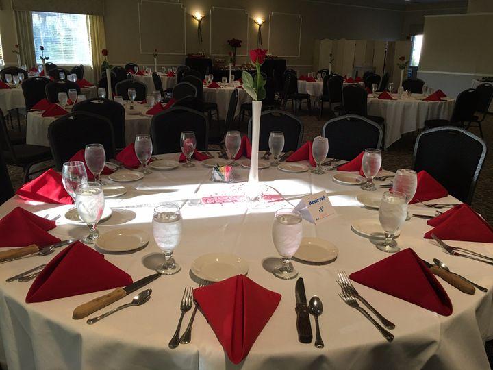 Tmx Table Set Up With Linens 51 732032 159300407865795 Port Orange, FL wedding venue