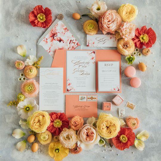 Watercolor Floral Suite