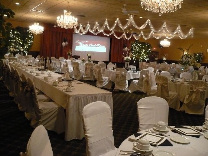 Montecarlo room in a white  setup