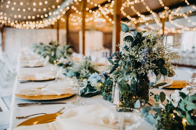 Custom designed tablescapes