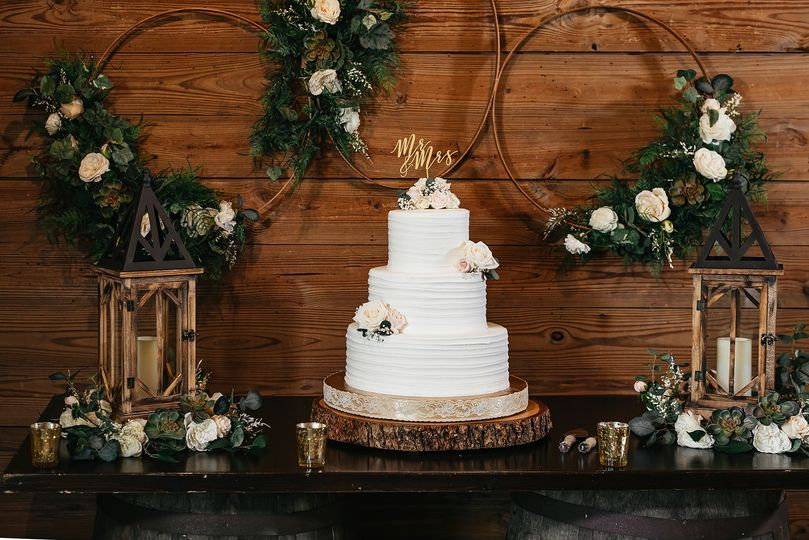 Cake Table and Decor