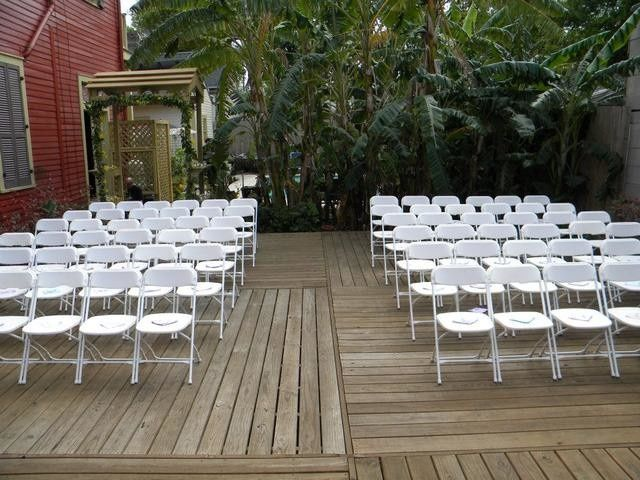 Chairs set-up
