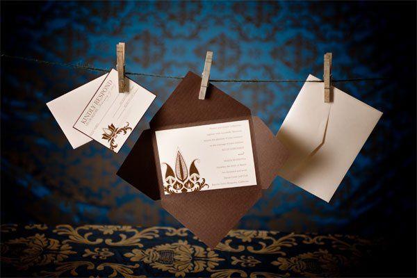 5x7 Envelefold Wedding Invitation set