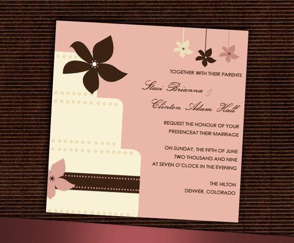 Tmx 1232313011484 AnnaInvite Parker wedding invitation