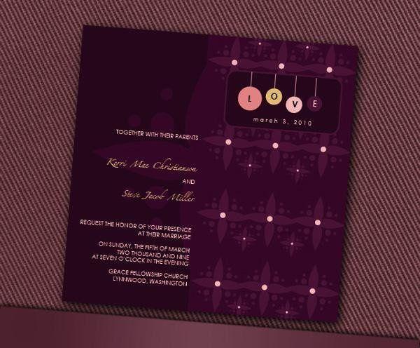 Tmx 1232313019296 DeliaInvite Parker wedding invitation