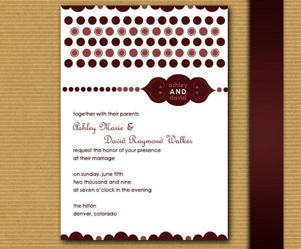 Tmx 1232313027968 MylieInvite Parker wedding invitation