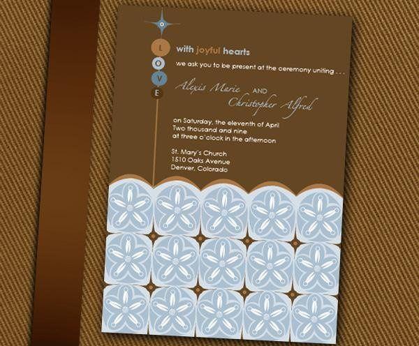 Tmx 1232313032046 ReeseInvite Parker wedding invitation