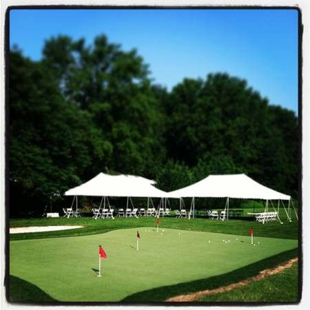 Tmx 1453382062427 20x40 Pole Tent 2 Peaks Golf Blackwood wedding rental