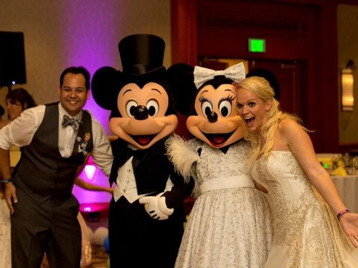 Tmx 1454181719193 Wedding Minnie And Mickey Blackwood wedding rental
