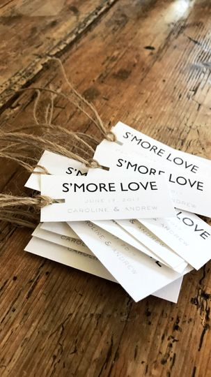 S'Mores Hang Tags