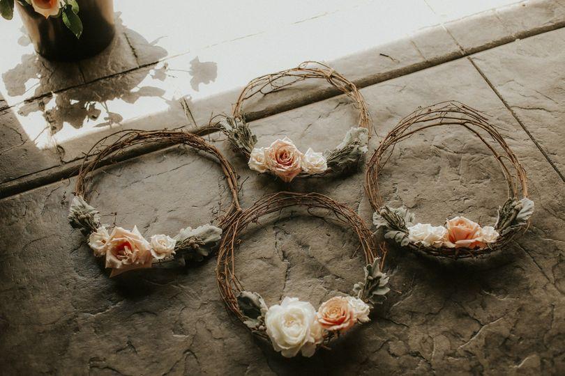 Bridesmaid Hoops